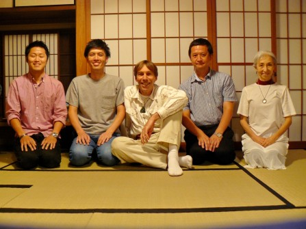 KAMAKURA: Just three participants in the Men's Seminar this year, still very enjoyable